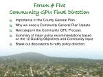 forum five community gpu final direction