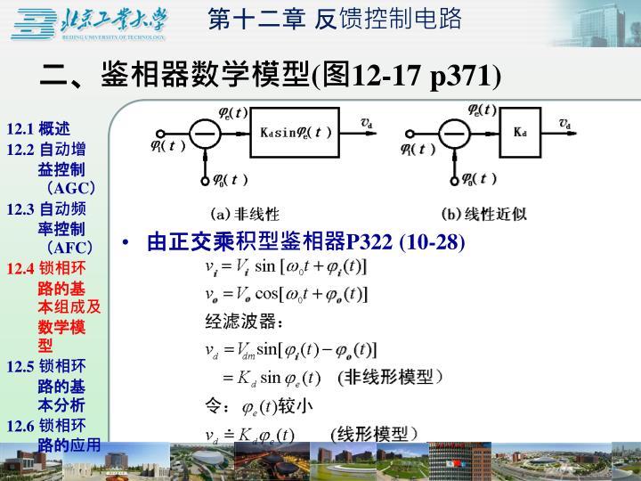 二、鉴相器数学模型