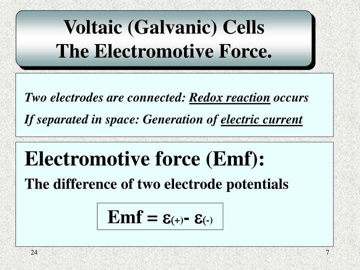 Voltaic (Galvanic) Cells