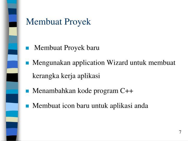 Membuat Proyek