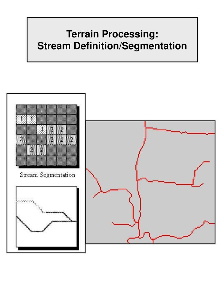 Terrain Processing: