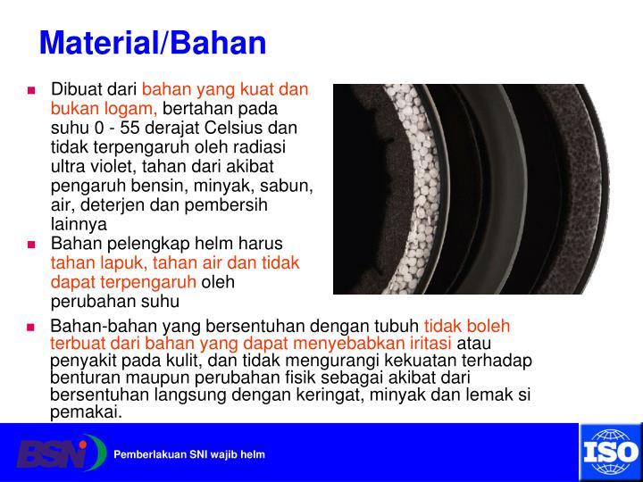 Material/Bahan