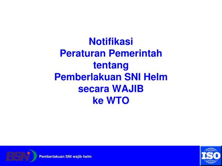 Notifikasi
