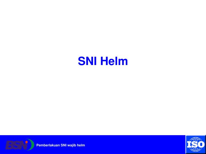 SNI Helm