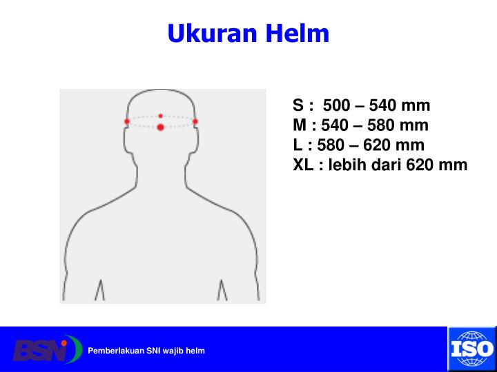 Ukuran Helm