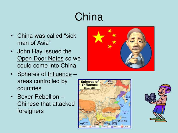 "China was called ""sick man of Asia"""