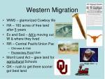 western migration1