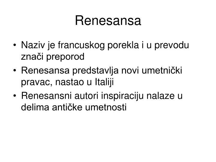 Renesansa