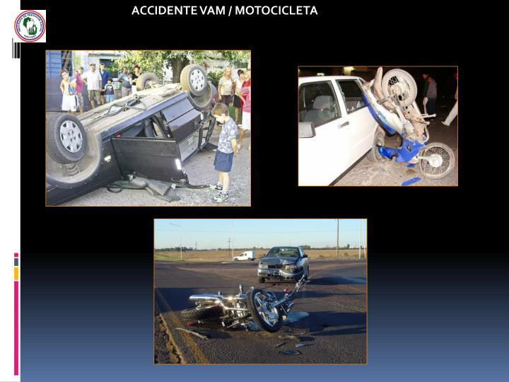 ACCIDENTE VAM / MOTOCICLETA