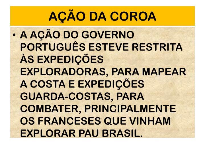 AO DA COROA