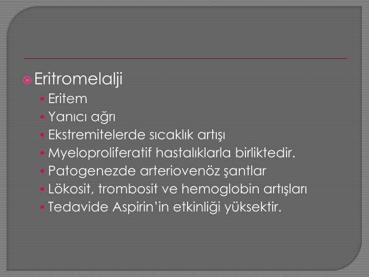 Eritromelalji