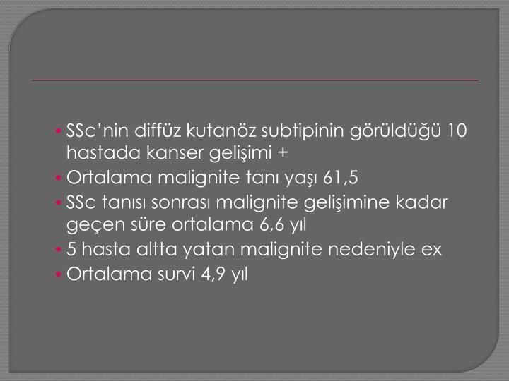 SSc'nin
