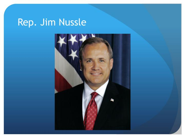 Rep. Jim Nussle