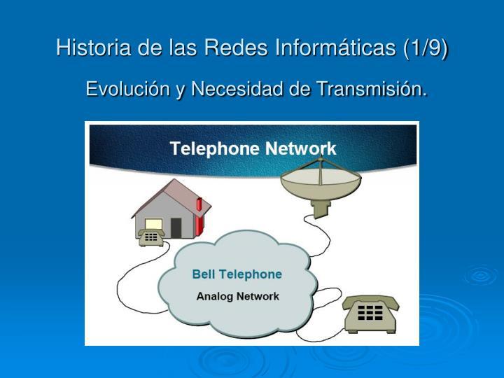 Historia de las Redes Informáticas (1/9)
