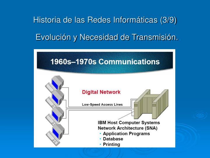 Historia de las Redes Informáticas (3/9)
