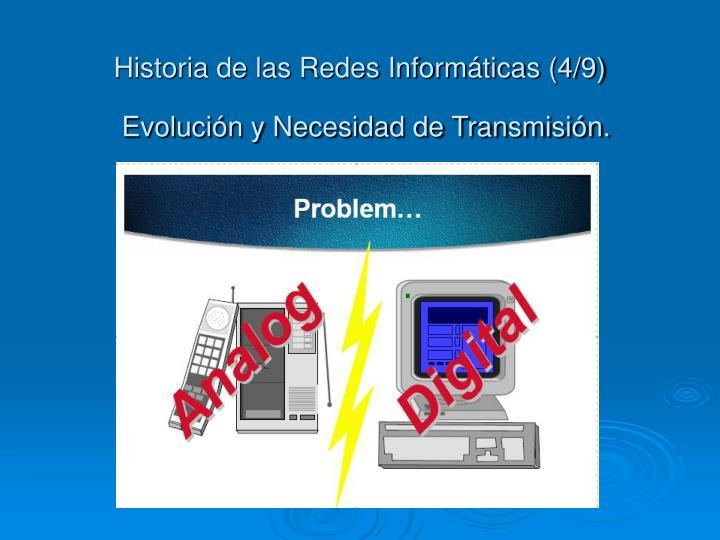 Historia de las Redes Informáticas (4/9)