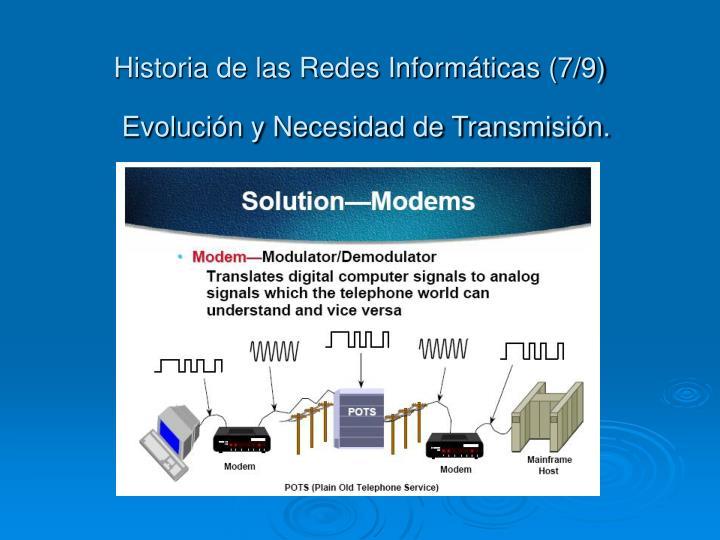 Historia de las Redes Informáticas (7/9)