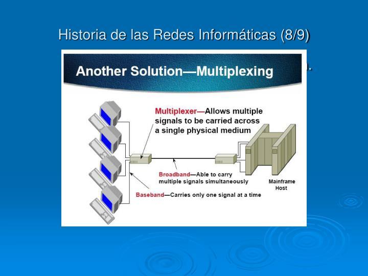 Historia de las Redes Informáticas (8/9)