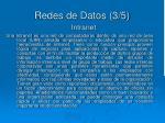 redes de datos 3 5