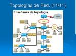 topolog as de red 11 11