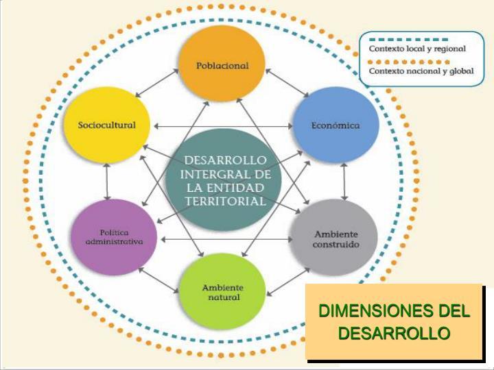 DIMENSIONES DEL DESARROLLO