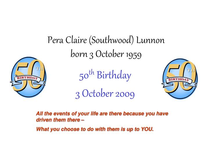 Pera claire southwood lunnon born 3 october 1959