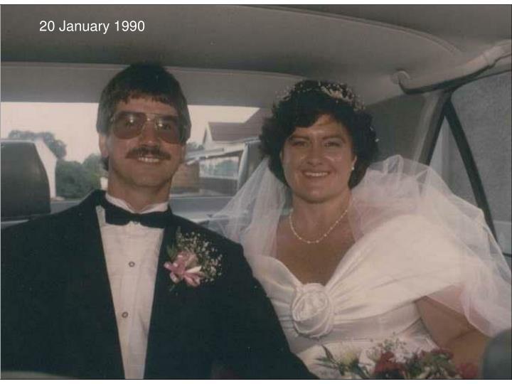 20 January 1990