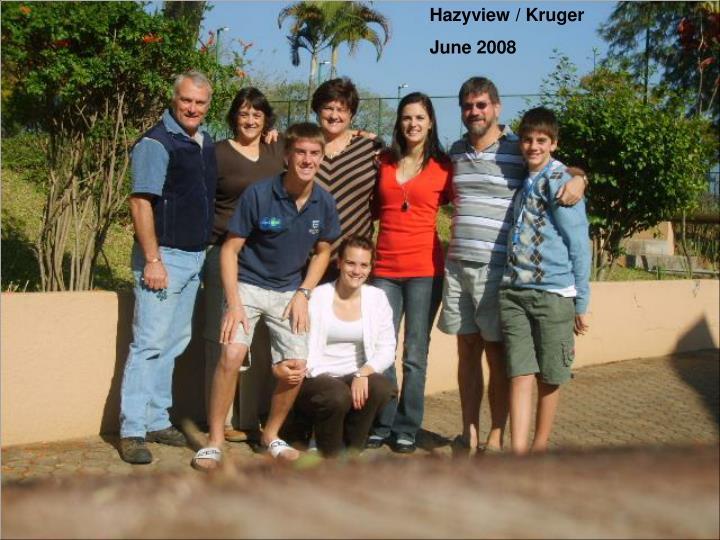 Hazyview / Kruger