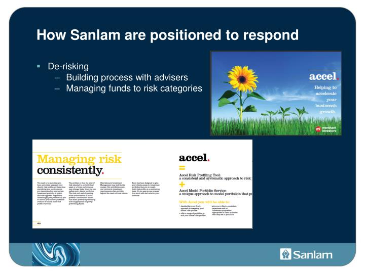 How Sanlam are positioned to respond