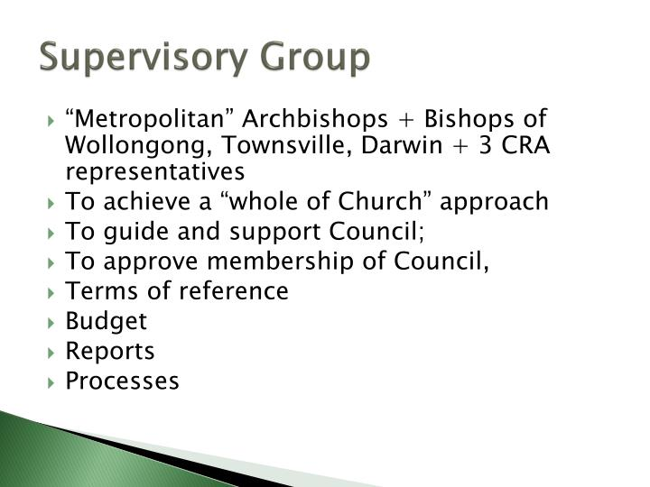 Supervisory Group