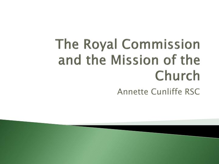 The Royal Commission