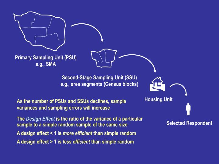 Primary Sampling Unit (PSU)
