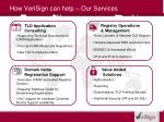 how verisign can help our services