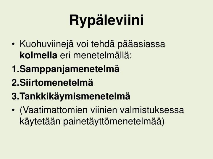 Rypäleviini
