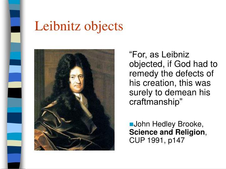 Leibnitz objects