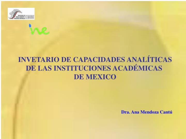 INVETARIO DE CAPACIDADES ANALÍTICAS