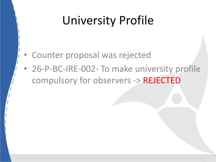 University Profile