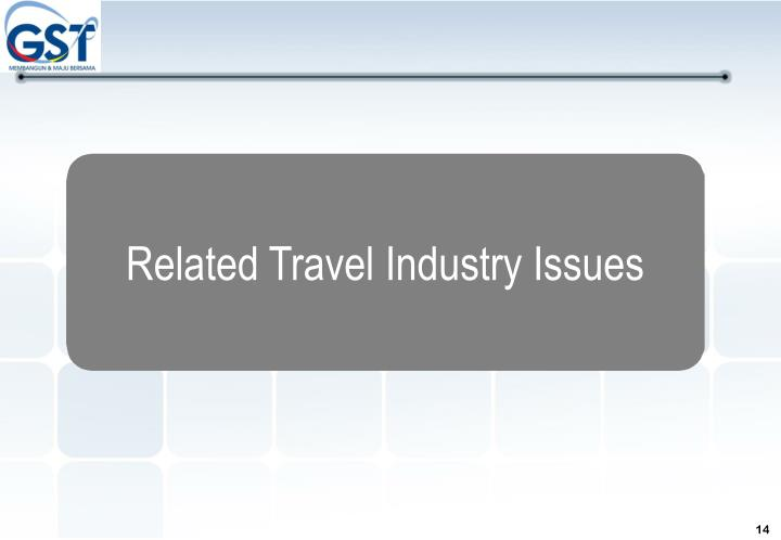 Related Travel Industry Issues