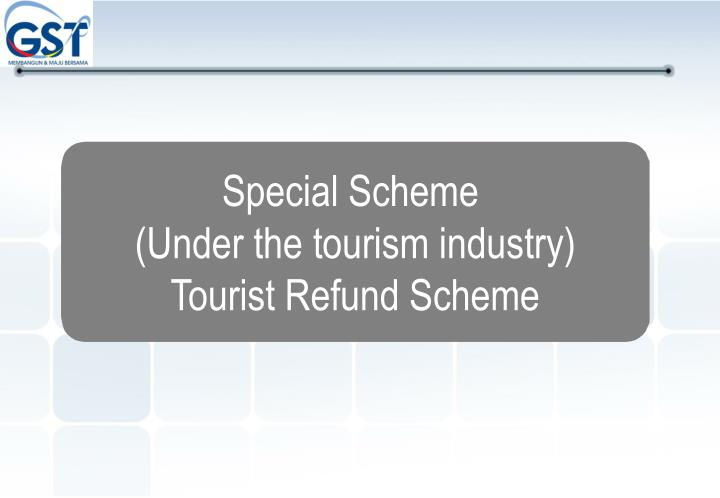 Special Scheme