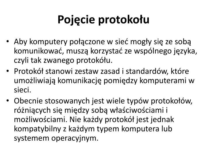 Pojęcie protokołu