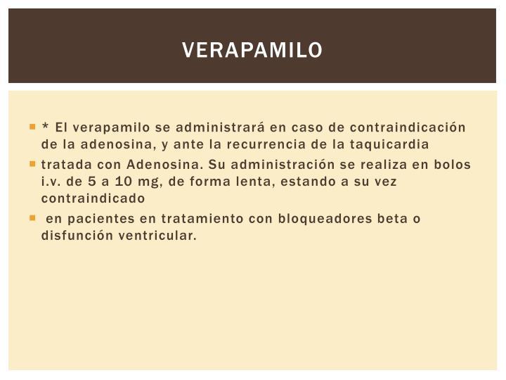Verapamilo