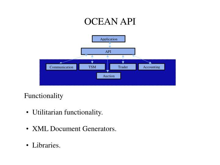 OCEAN API