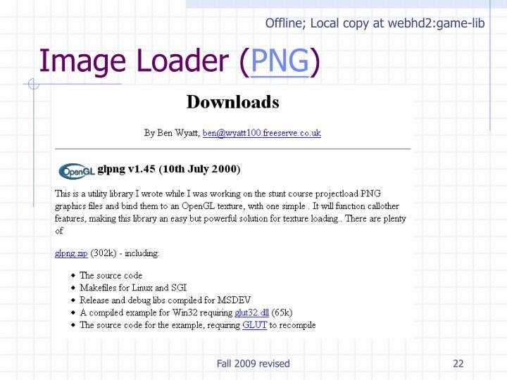 Offline; Local copy at webhd2:game-lib