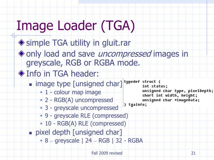 Image Loader (TGA)