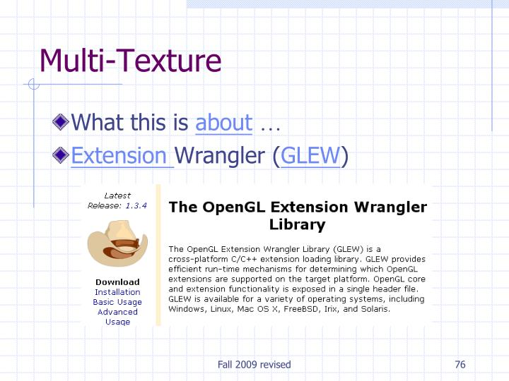 Multi-Texture
