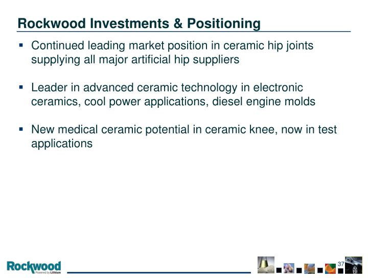 Rockwood Investments & Positioning