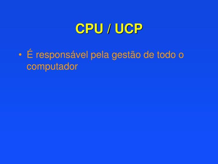 CPU / UCP