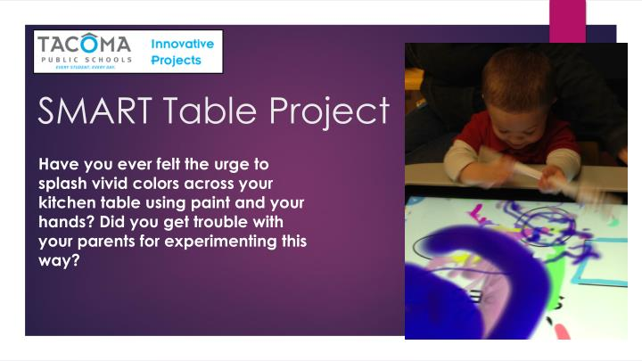Smart table project