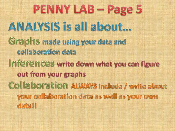 PENNY LAB – Page 5