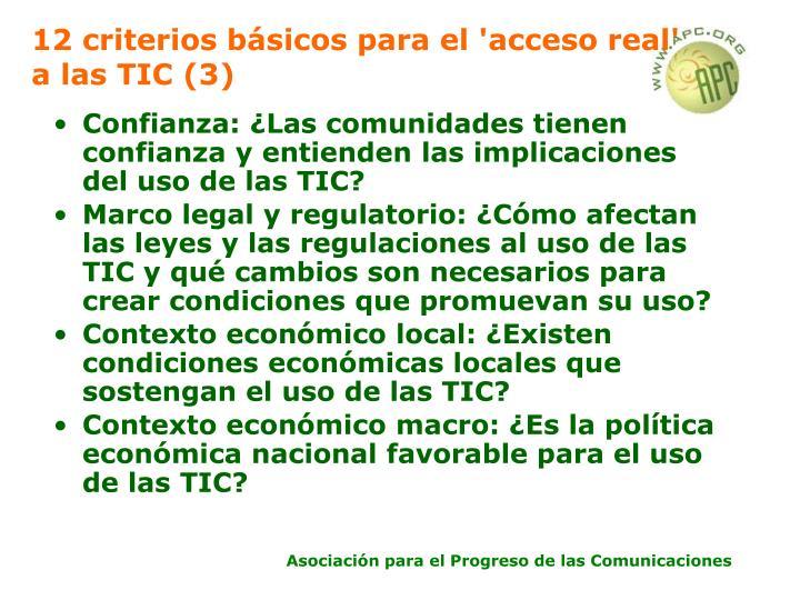 12 criterios básicos para el 'acceso real' a las TIC (3)
